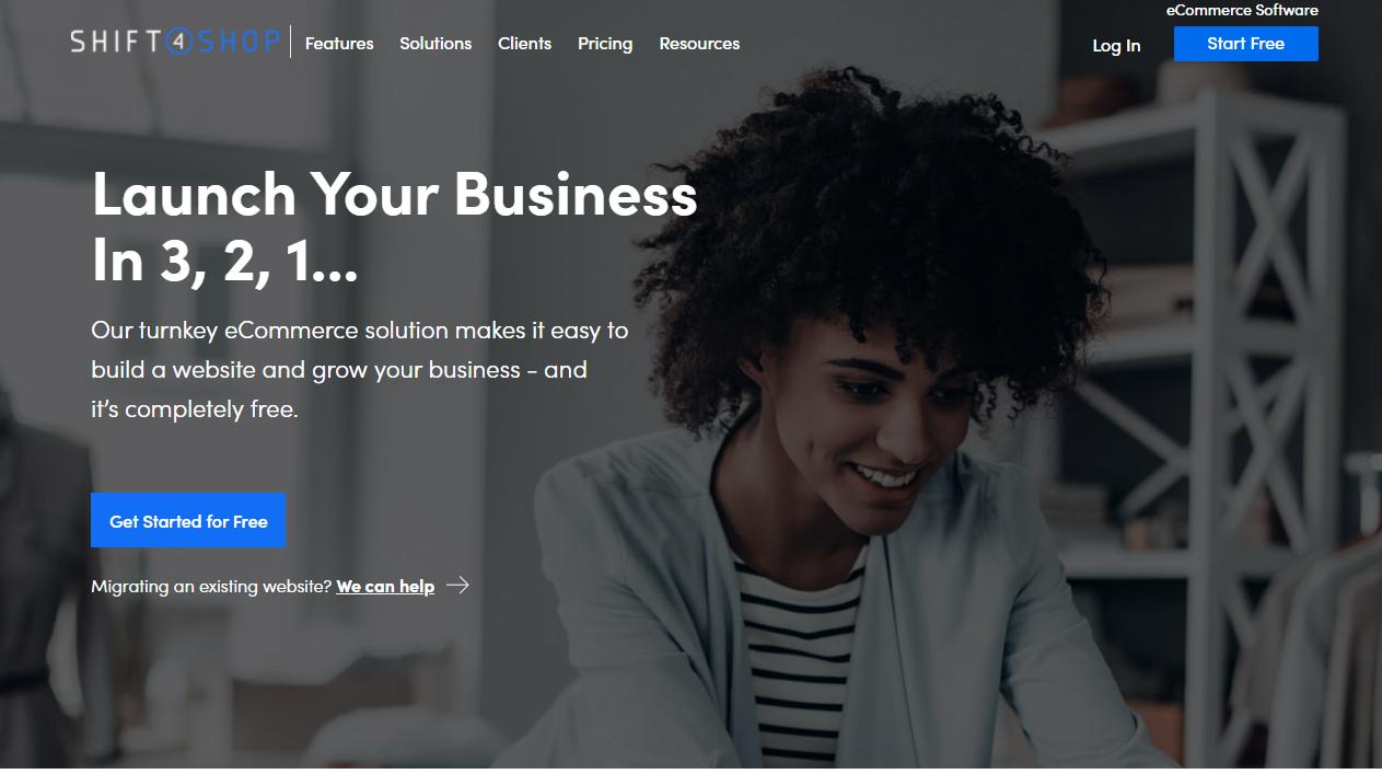 shift4shop ecommerce platform